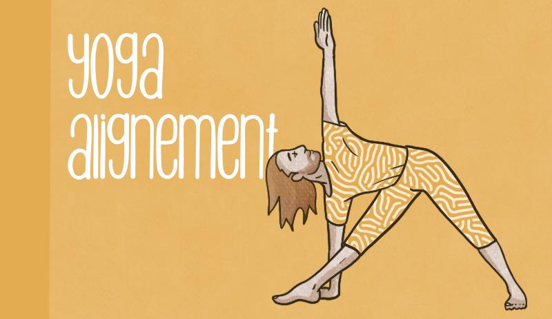 Alignement yoga Iyengar posture yoga souffle bien être pratique